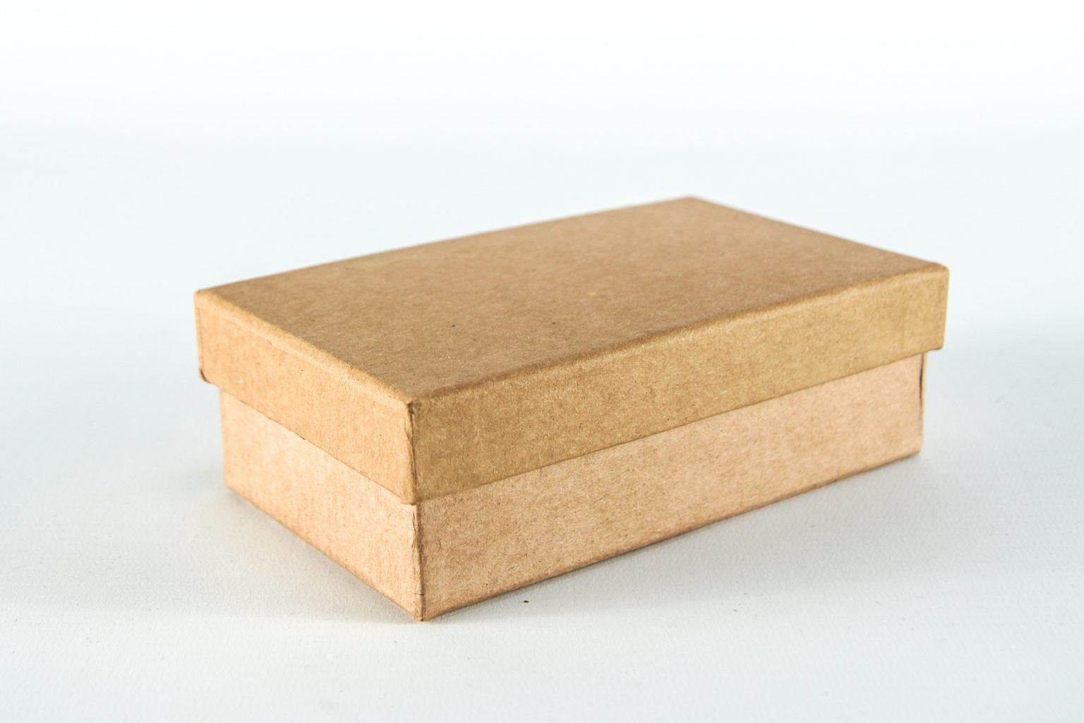 plain, paper gift box