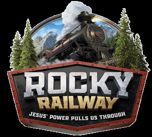 Rocky Railway. Jesus' power pulls us through